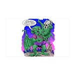 Cthulhu Does Hamlet 35x21 Wall Decal