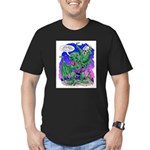 Cthulhu Does Hamlet Men's Fitted T-Shirt (dark)
