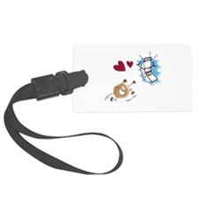 Milk and Cookies Luggage Tag