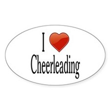 I Love Cheerleading Decal