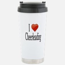 I Love Cheerleading Travel Mug