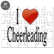 I Love Cheerleading Puzzle