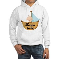 Nonna To Be Sailboat Hoodie