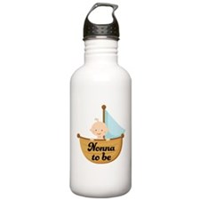 Nonna To Be Sailboat Water Bottle