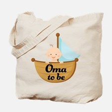 Oma To Be Sailboat Tote Bag