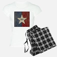 Vintage San Antonio Flag Pajamas