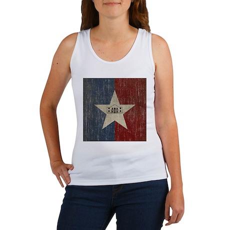 Vintage San Antonio Flag Women's Tank Top