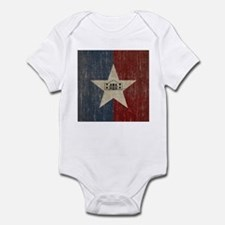 Vintage San Antonio Flag Infant Bodysuit