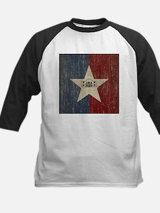 Vintage San Antonio Flag Kids Baseball Jersey