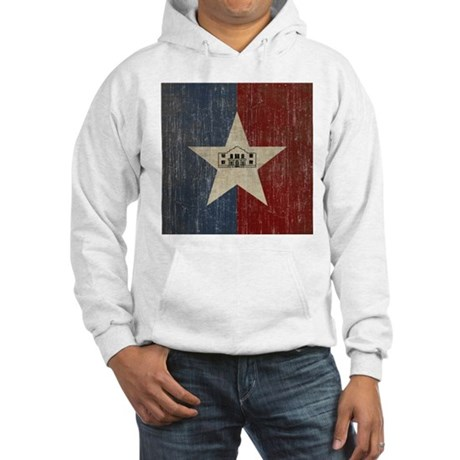 Vintage San Antonio Flag Hooded Sweatshirt