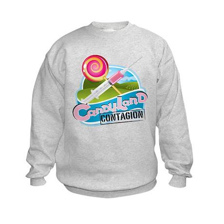 CandyLand Contagion Official Logo Kids Sweatshirt