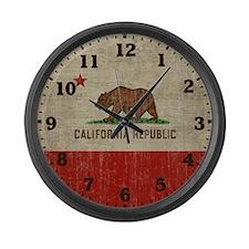 Cute Retro Large Wall Clock