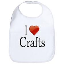 I love Crafts Bib