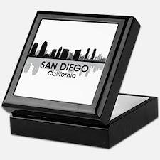 San Diego Skyline Keepsake Box