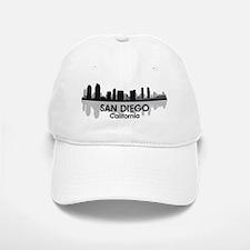 San Diego Skyline Baseball Baseball Cap