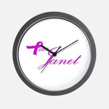Team Janet Wall Clock