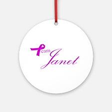 Team Janet Ornament (Round)