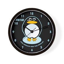 FISH CLUB Wall Clock