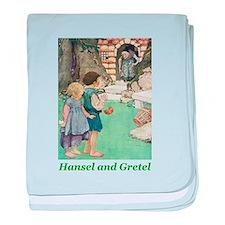 Hansel and Gretel baby blanket