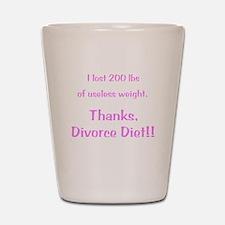 Divorce Diet Shot Glass