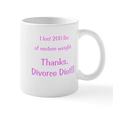 Divorce Diet Small Mug