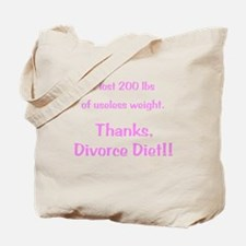 Divorce Diet Tote Bag