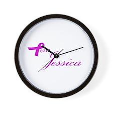 Team Jessica Wall Clock