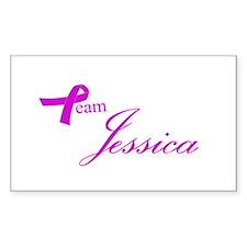 Team Jessica Decal