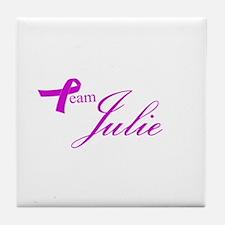 Team Julie Tile Coaster
