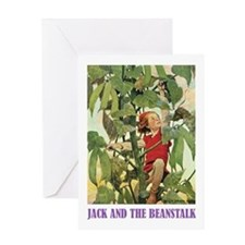 Jack And The Beanstalk Greeting Card