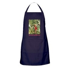 Jack And The Beanstalk Apron (dark)