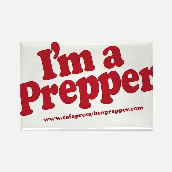 I'm a Prepper Rectangle Magnet