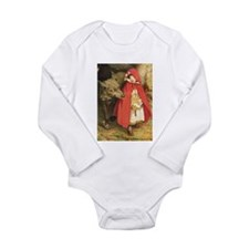 Little Red Riding Hood Long Sleeve Infant Bodysuit