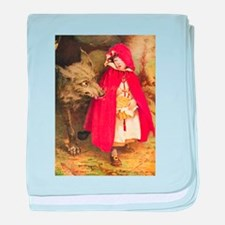 Little Red Riding Hood baby blanket