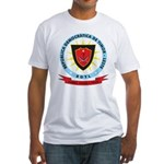 East Timor Coat Of Arms Fitted T-Shirt
