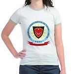 East Timor Coat Of Arms Jr. Ringer T-Shirt