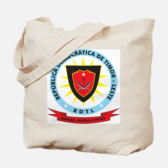 East Timor Coat Of Arms Tote Bag
