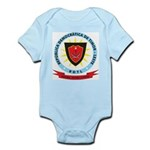 East Timor Coat Of Arms Infant Creeper