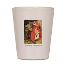 Little Red Riding Hood Shot Glass