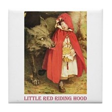 Little Red Riding Hood Tile Coaster