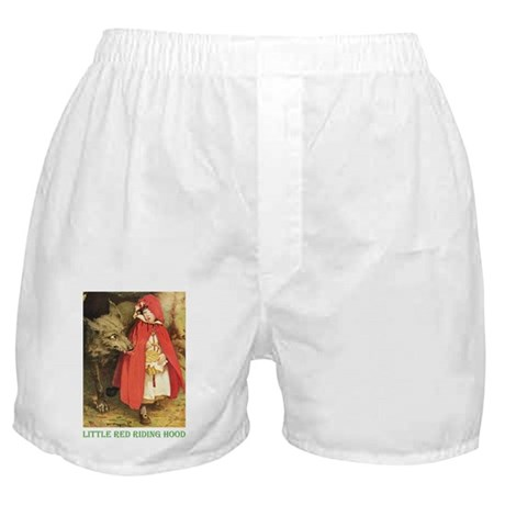 Little Red Riding Hood Boxer Shorts