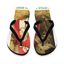 Little Red Riding Hood Flip Flops