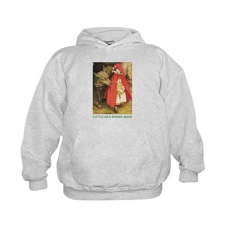 Little Red Riding Hood Kids Hoodie