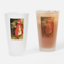 Little Red Riding Hood Drinking Glass