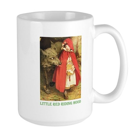 Little Red Riding Hood Large Mug