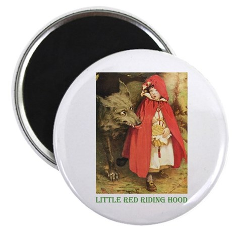 """Little Red Riding Hood 2.25"""" Magnet (100 pack)"""
