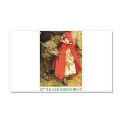 Little Red Riding Hood Car Magnet 20 x 12
