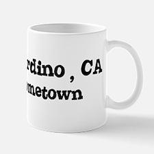 San Bernardino - hometown Mug