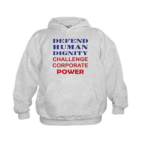Defend Human Dignity Kids Hoodie