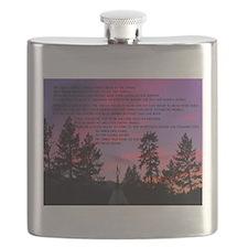 Lakota Great Spirit Prayer Flask